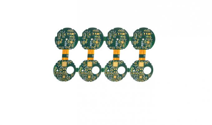 Finition flexible multicouche rigide d'or d'immersion de carte PCB de 4 couches pour la caméra de Leica