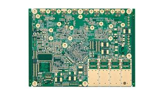Chine conception de carte PCB de haute fréquence d'or d'immersion de 0.25MM panneau de carte PCB de 12 couches 4 mil fournisseur