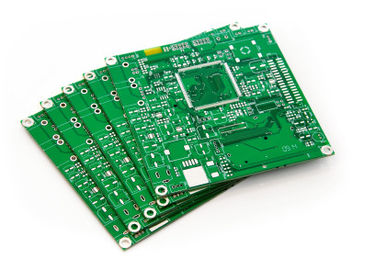 Double fabrication dégrossie de carte PCB d'OEM franc 4 carte de 2 couches argent d'immersion de 5 onces